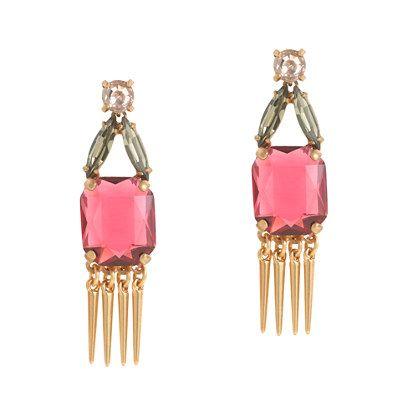 J.Crew - Moroccan stone earrings