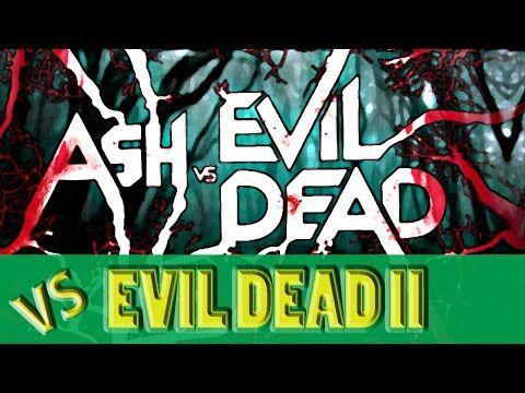 #AshVsEvilDead vs Evil Dead II | Michael P. Shipley