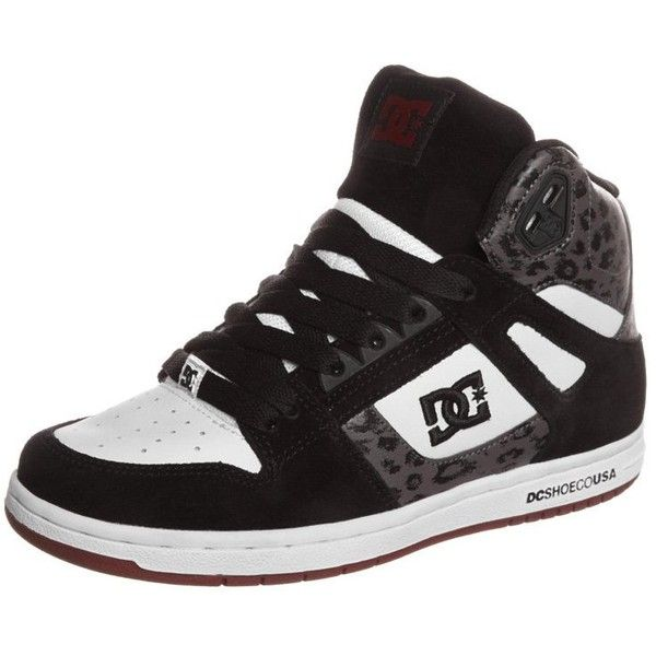 DC Shoes REBOUND Hightop trainers found on Polyvore