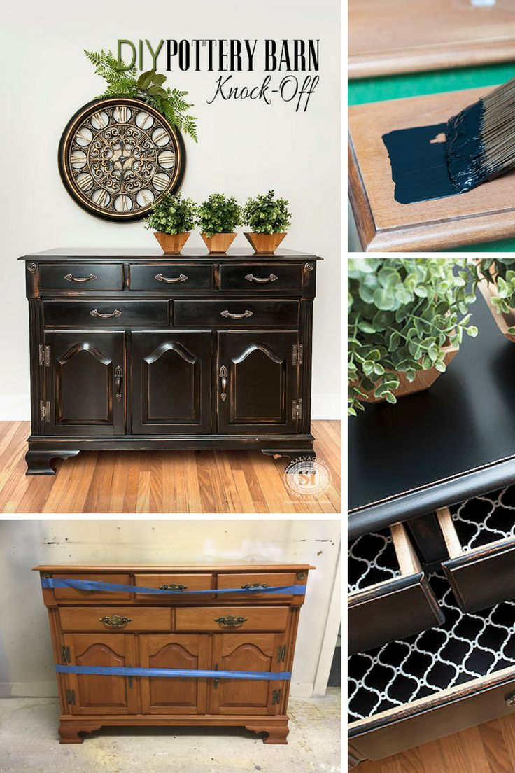 DIY Pottery Barn KnockOff Pottery barn furniture