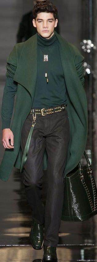 Versace Menswear Fall 2014