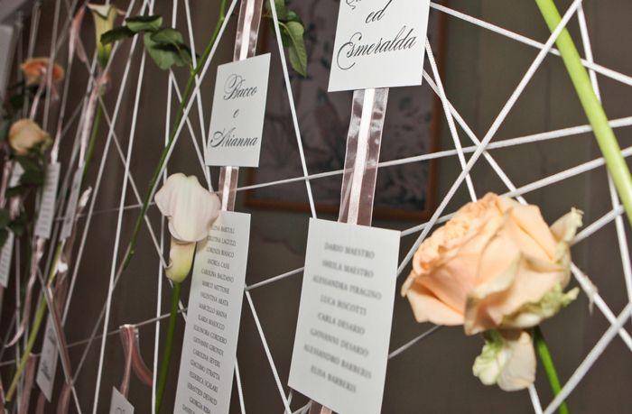 tableau de mariage -b roses
