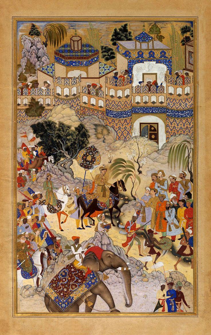 Akbar's Triumphal Entry into Surat