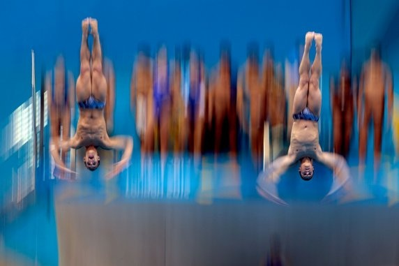 Kristian Ipsen and Troy Dumais won bronze in the synchronized springboard at the 2012 London Olympics