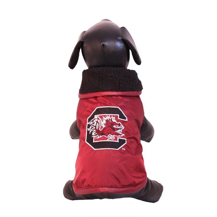 NCAA South Carolina Gamecocks All Weather Resistant Protective Dog Outerwear XX-Small