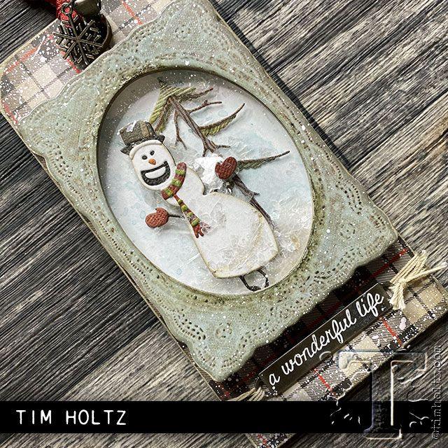Tim Holtz 2020 Christmas 2020 sizzix chpt.3: christmas | Tim Holtz in 2020 | Christmas
