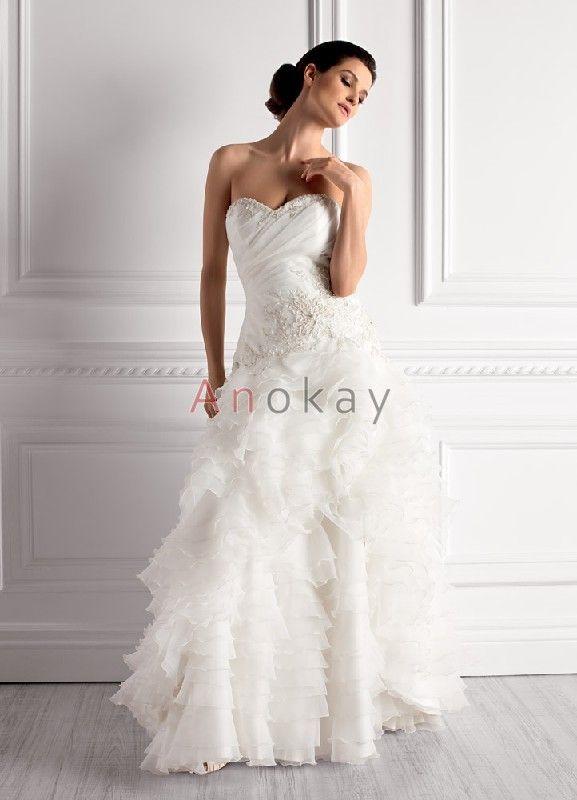 10 best Brautkleider images on Pinterest | White weddings, Short ...