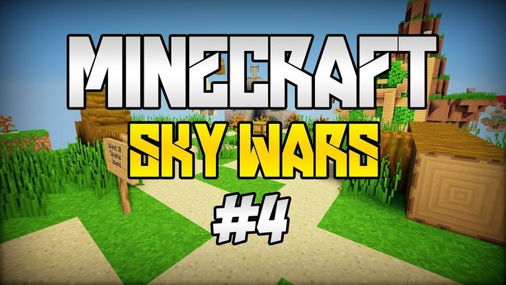 Skywars minecraft#(4скайварс майнкарфт1.5.2)+Ip