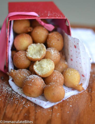 African Doughnut (Drop Doughnut)-15 minute doughnut- crunchy on the outside and pillowy soft on the inside. Packed with flavor.