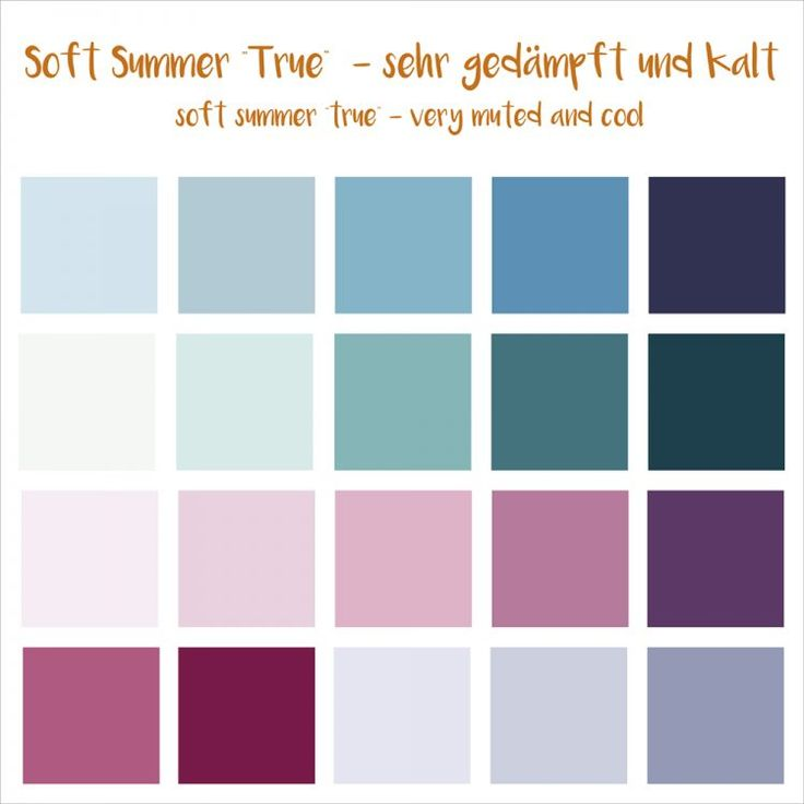 Soft summer (12 er) (Summer Beauty Hacks)