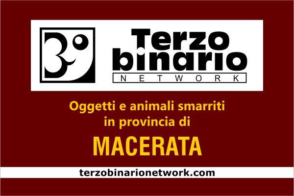 Oggetti e animali smarriti in provincia di Macerata