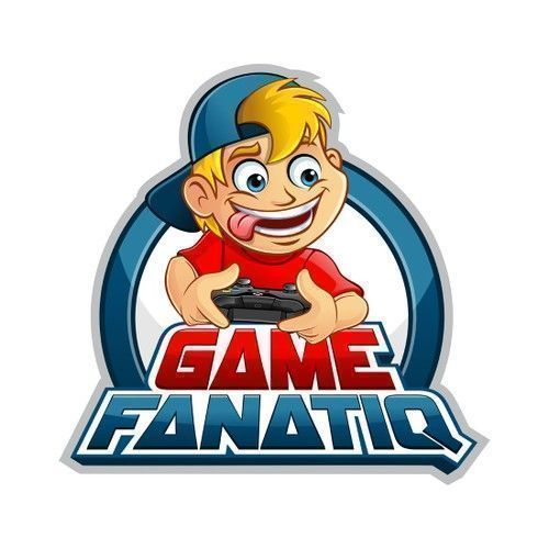 Game Fanatiq - Video game review website logo Video game review website with a target audience of teenage to middle age men... #videogamereviews