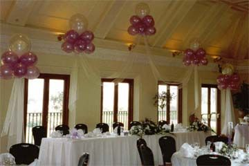 Ideas for balloon decor.