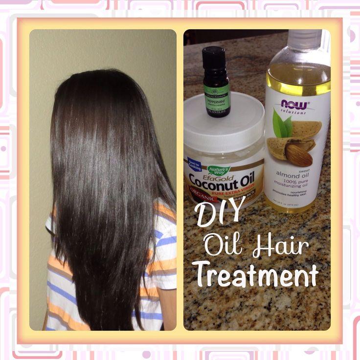 Diy Hair Treatment For Loss: Grow Long Healthy Hair Fast! DIY Oil Treatment #diy