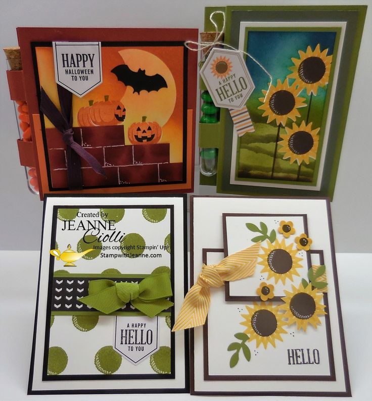 September 2016 Paper Pumpkin alternative - Jeanne Cioli