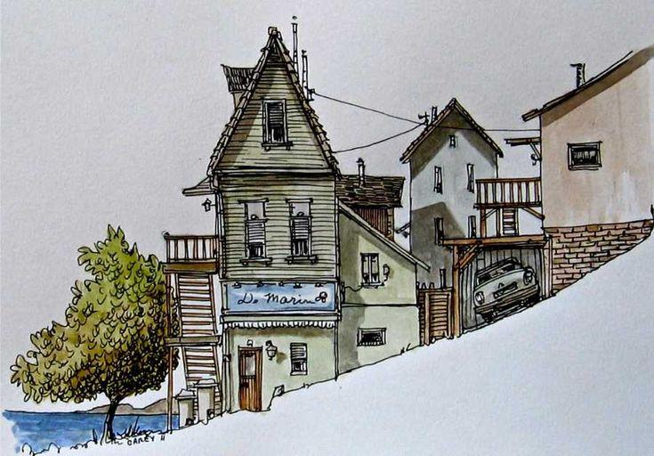 'Skineart: beach houses by Rob Carey