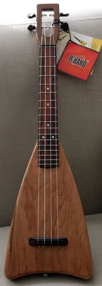 FLUKE SB SOLID BODY TENOR UKULELE WITH GIGBAG - Ukuleles for sale - Fluke & Flea - Guitarjunky