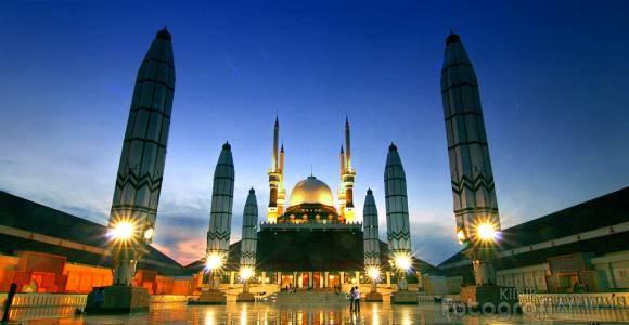 The Great Mosque, Semarang.