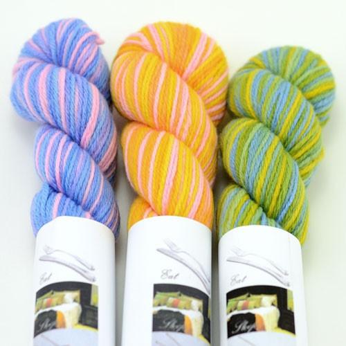 EcoOrganic Merino 8 ply Hand Dyed