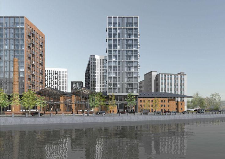 Проект строительства многофункционального жилого комплекса на Павелецкой набережной : Sergey Skuratov Architects