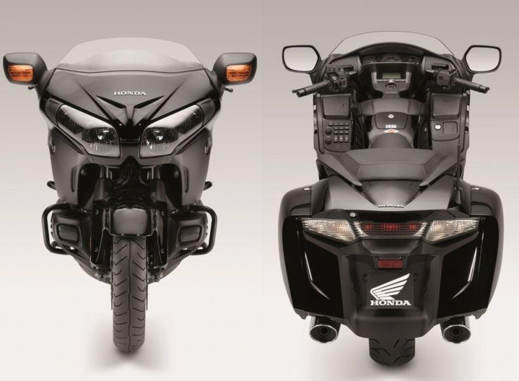 Front and rear view of the 2013 Honda Goldwing F6B #f6b #goldwing #honda #2013