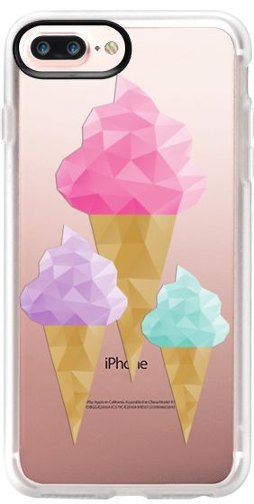 Casetify iPhone 7 Plus Case and iPhone 7 Cases. Other Dessert iPhone Covers - Ice Cream by Emanuela Carratoni | Casetify