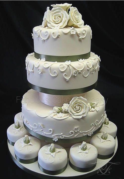 Wedding Cakes ~ Norfolk Wells-next-the-Sea Fabulous Cake Company