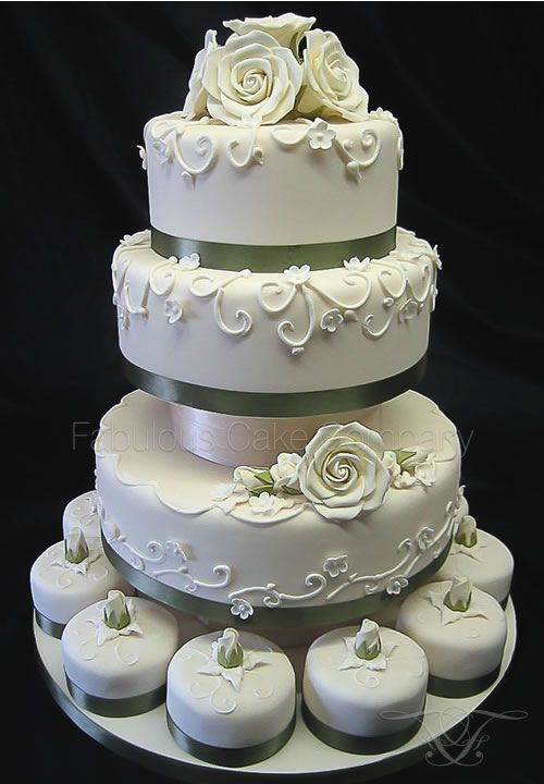 Wedding Cakes ~ Norfolk Wells-next-the-Sea Fabulous Cake Company