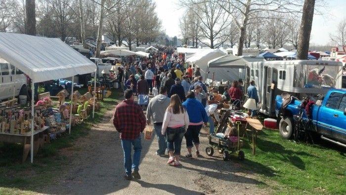 2) Lucasville Trade Days (Scioto County Fairgrounds)