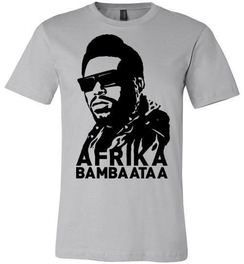 Afrika Bambaataa ,South Bronx, New York, Electro Funk,Universal Zulu  Nation,Old School Hip Hop,Planet Rock,v2, Canvas Unisex T-Shirt