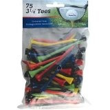 "INTECH Golf Tee 3 1/4"" 75 Pack (Multi) (Sports)By Intech"