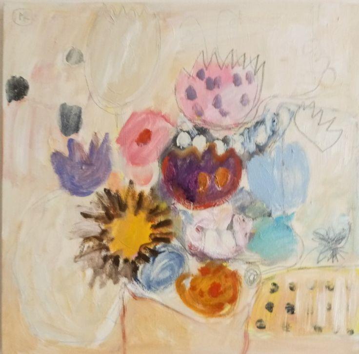 #kobus#malgo#abstract#painting#malarstwo#flowers