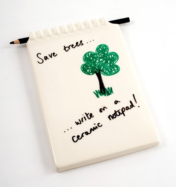 Ceramic Notepad