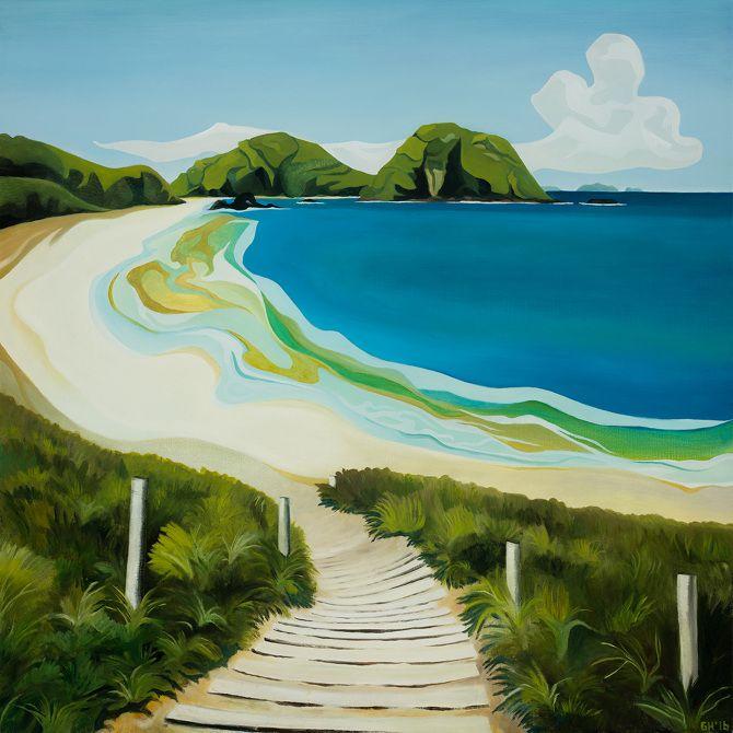 Matapouri Beach - Guy Harkness