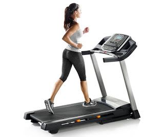 HEALTH FITNESS: Nordic Track T 6.5 S Treadmill  - Digitally adjust...