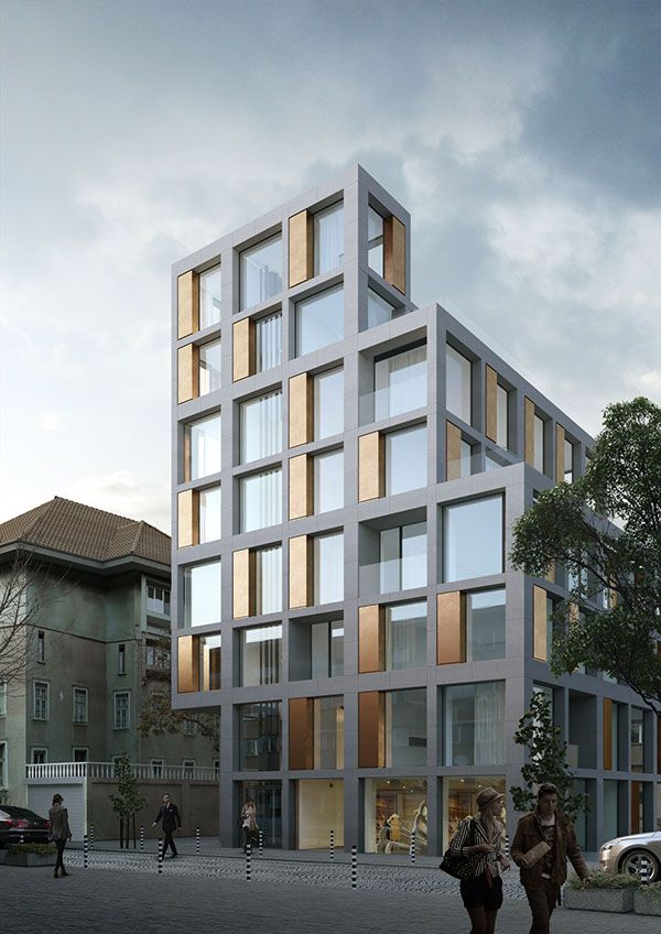 1452 best facade images on pinterest facades facade and for Best modern residential architects