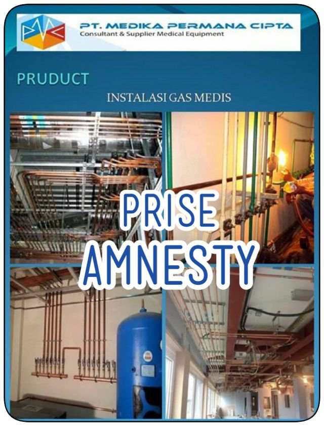 Prise Amnesty Medical Gas Product