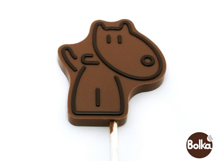 Chocolate lollipop/csokoládé nyalókák (kutya/dog)