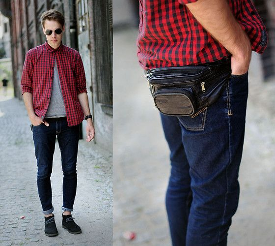 Heavy Duty Shoes, Pull Jeans, House Shirt, Cubus Sunglasses