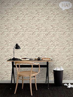 Ένα γράμμα του Τολστόι ...στο τοίχο!  Ταπετσαρία τοίχου: http://www.houseart.gr/select_use.php?id=304&pid=4585  #houseart #wallpaper #sticker #decoratio #leo_tolstoi #quotes