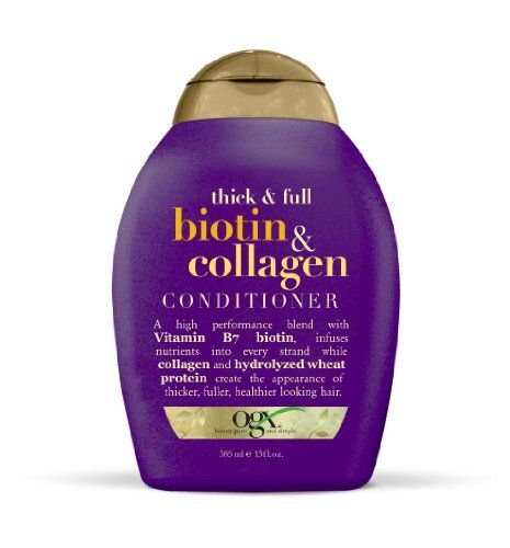 OGX Conditioner Thick  Full Biotin  Collagen 13oz * Click image for more details.(This is an Amazon affiliate link and I receive a commission for the sales)