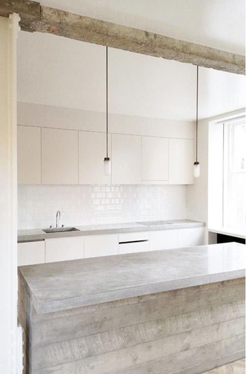 Marmer werkblad google zoeken own house kitchen wall tiles pinterest kitchens - Witte quartz werkblad ...