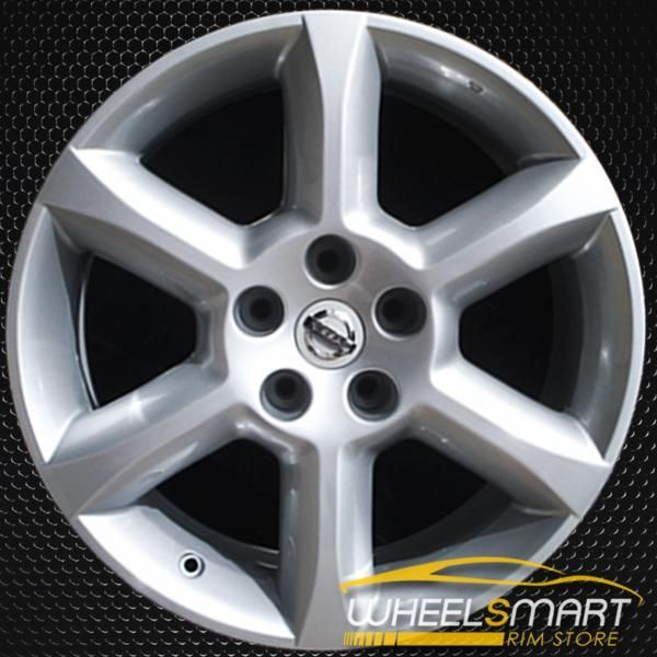 18 Nissan Maxima Oem Wheel 2004 2006 Silver Alloy Stock Rim 62424 Nissan Maxima Oem Wheels Nissan
