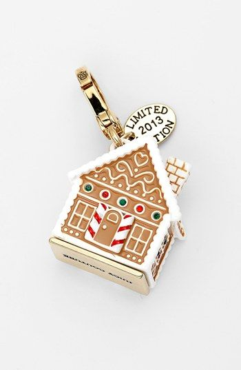 JuicyCouture.com, Juicy Couture Boxed Gingerbread House Charm (Limited Edition) $19.99 (sale)