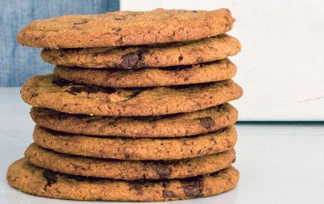 Claus Meyers cookies med chokolade