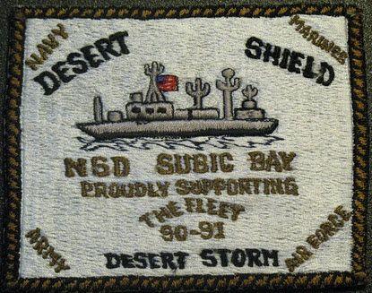 NSD Subic Bay - Desert Storm & Desert Shield 1990-1991