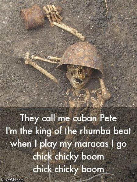 king of the rhumba