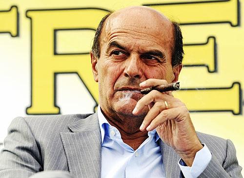 Pier Luigi Bersani, leader of the partito Democratico in Italy.