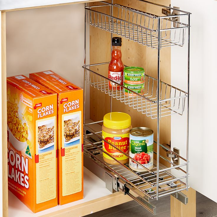 Store&Order | 3 Tier Drawer Basket Organiser 14 x 41 x 51cm