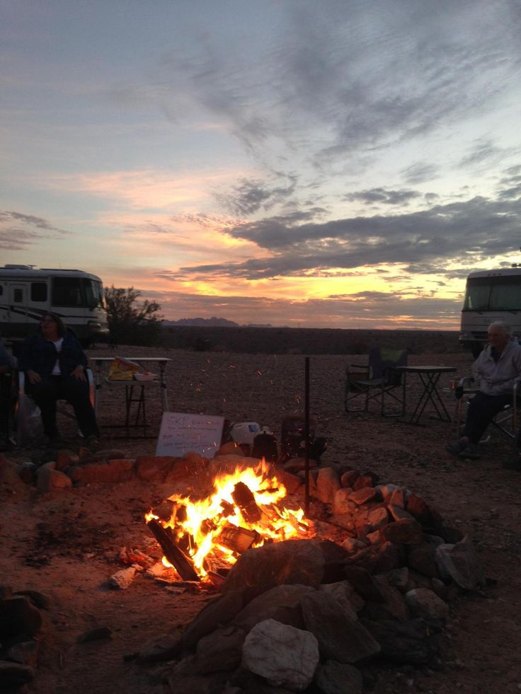 Looove, love seeing #RVing folks getting together! 🙌 Thanks Sharon for sharing from Erhrenberg AZ! Join the #Escapees RV Club on #RVillage too!
